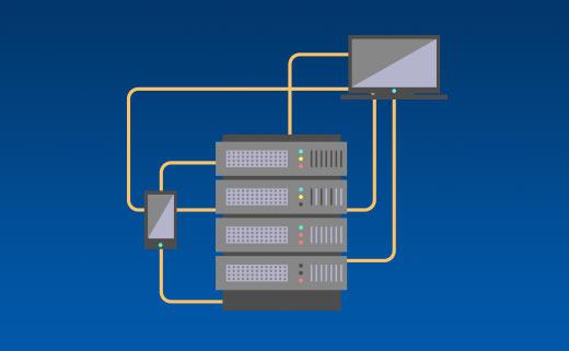 V Tron dedicated server hizmeti anlatan görsel